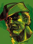 GREEN ARROW doodle by grandizer05