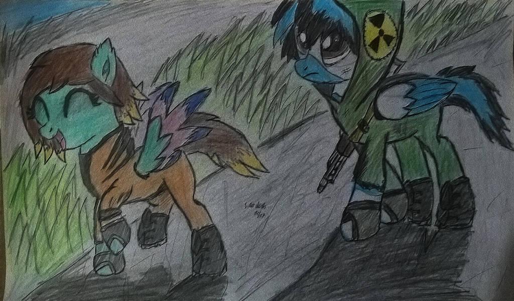 STALKER Shadow of Ponyville by RestaDash