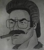 Ned Flanders as Fernando Whitmore by RestaDash