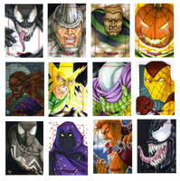 Spidey Villains by Dangerous-Beauty778