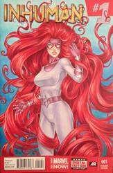 Medusa, variant cover by Dangerous-Beauty778