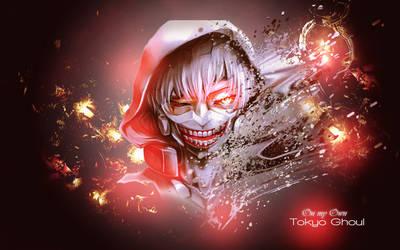 [ Wallpaper ] Tokyo Ghoul - Kaneki Ken by CaptainMisuzu