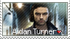Aidan Turner stamp by dawn-of-stamps