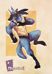 Kung-Fu Dog Husbando by MoonlostArts