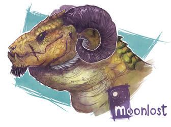 my good dragon son by MoonlostArts