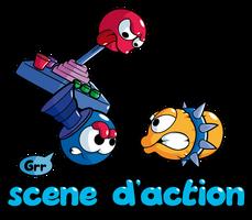 Cliku Quest - Action Scene by Ockam