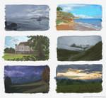 Landscape Studies by Riemea