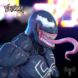 Venom Fan art by Samholy