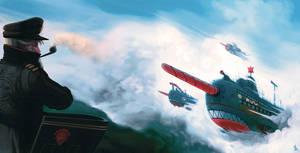Skyblast by funshark