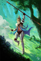 FEZ warrior by funshark