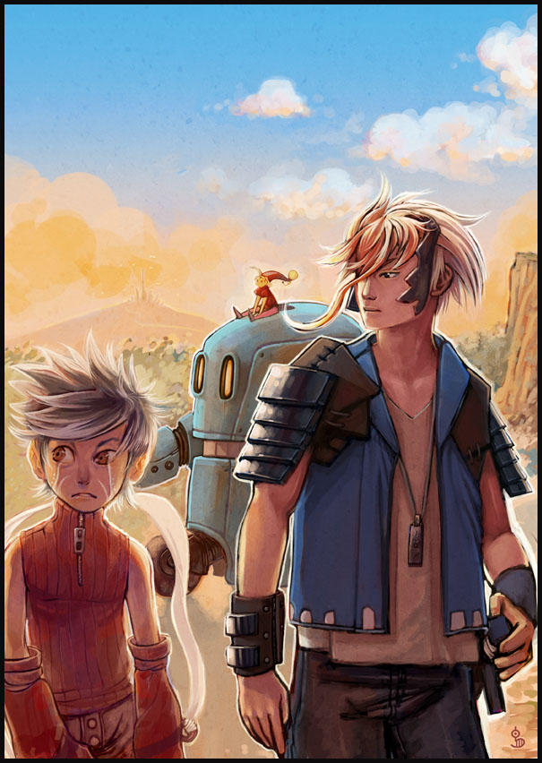 Random Fantasy characters by funshark