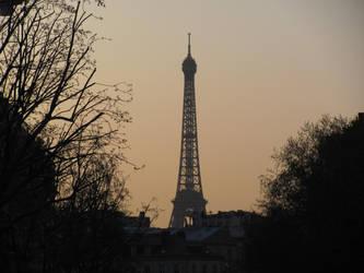 Paris,Eiffel Tower 5 by FabiusWong