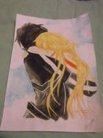 Kirito And Asuna by sakumay88