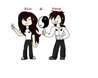Yin and Yang XD by ShadowFOX714