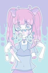 ghost tears by HariSaysMeh