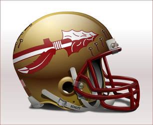 FSU helmet by thynes
