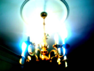 Blue Light Blossom by Rmin