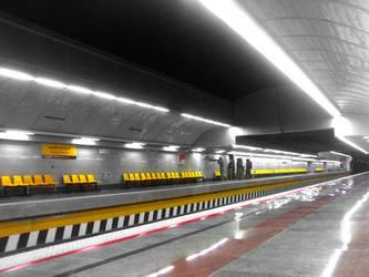 Metro Station Darvaze Dolat by Rmin