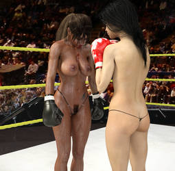 Lena vs Jasmine 24 by CB1964