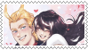 All Might x Vi Stamp by SHAD0WT0UCH