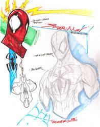 Spidey designs by JoeyVazquez