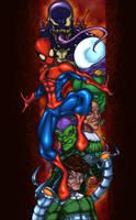 Spidey baddies coloring FINAL by JoeyVazquez
