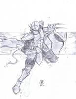 Shredder sketch for Rob by JoeyVazquez