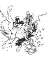 SPIDERMEN by JoeyVazquez
