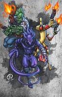 The GLYPH TEAM UP COLORS by JoeyVazquez