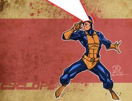 Cyclops color splash by JoeyVazquez