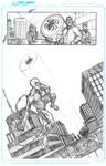 Superior Spiderman practice page one by JoeyVazquez