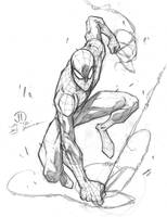 Spidey quick sketch pencils by JoeyVazquez