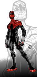 Superior Spider-man color by JoeyVazquez