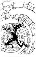 Superior Spider-man print inks by JoeyVazquez