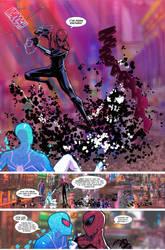 Spider-Verse Digital spider-man fan comic page 6 by JoeyVazquez