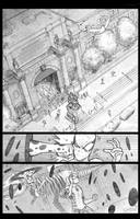 Spidey vs the Spot sample page 1 digital touch by JoeyVazquez