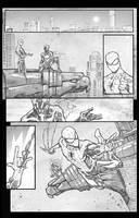 Spidey vs the Spot sample page 4 digital touch by JoeyVazquez