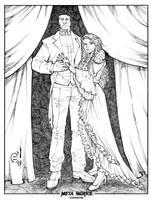 Phantom of the Opera inks by JoeyVazquez