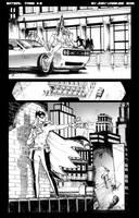 Batgirl sample page 2 by JoeyVazquez