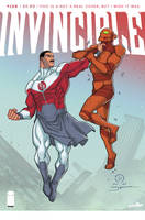 Invincible fake cover by JoeyVazquez