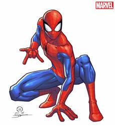 Spider-man licensing art by JoeyVazquez