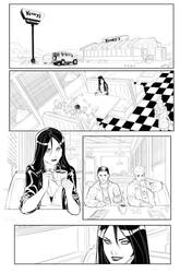 Charismagic preview page 1 inks by JoeyVazquez
