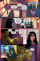 Charismagic issue 2 preview page 2 by JoeyVazquez