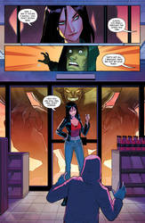 Charismagic issue 2 preview page 3 by JoeyVazquez