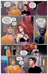 Charismagic issue 3 preview page by JoeyVazquez