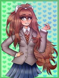 ''Monika'' by xXxLorenaxXx