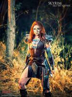 Aela the Huntress - Skyrim Cosplay by bgzstudios