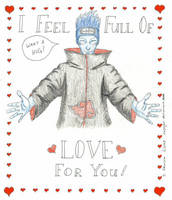 Kisame's Valentine by objoyful
