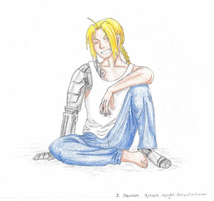 Free Sketch 4 - Ed by objoyful