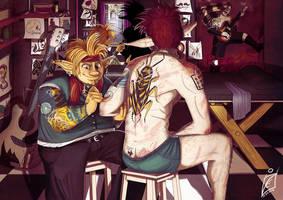 Tattooist by iisjah